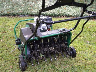 Lawn Aerating & Seeding
